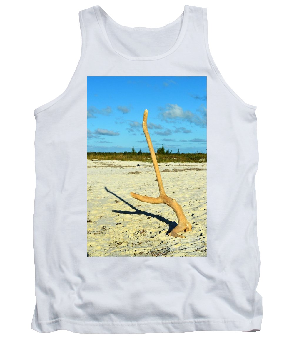 Turks And Caicos Tank Top featuring the photograph Headstand 2 by Judy Wolinsky