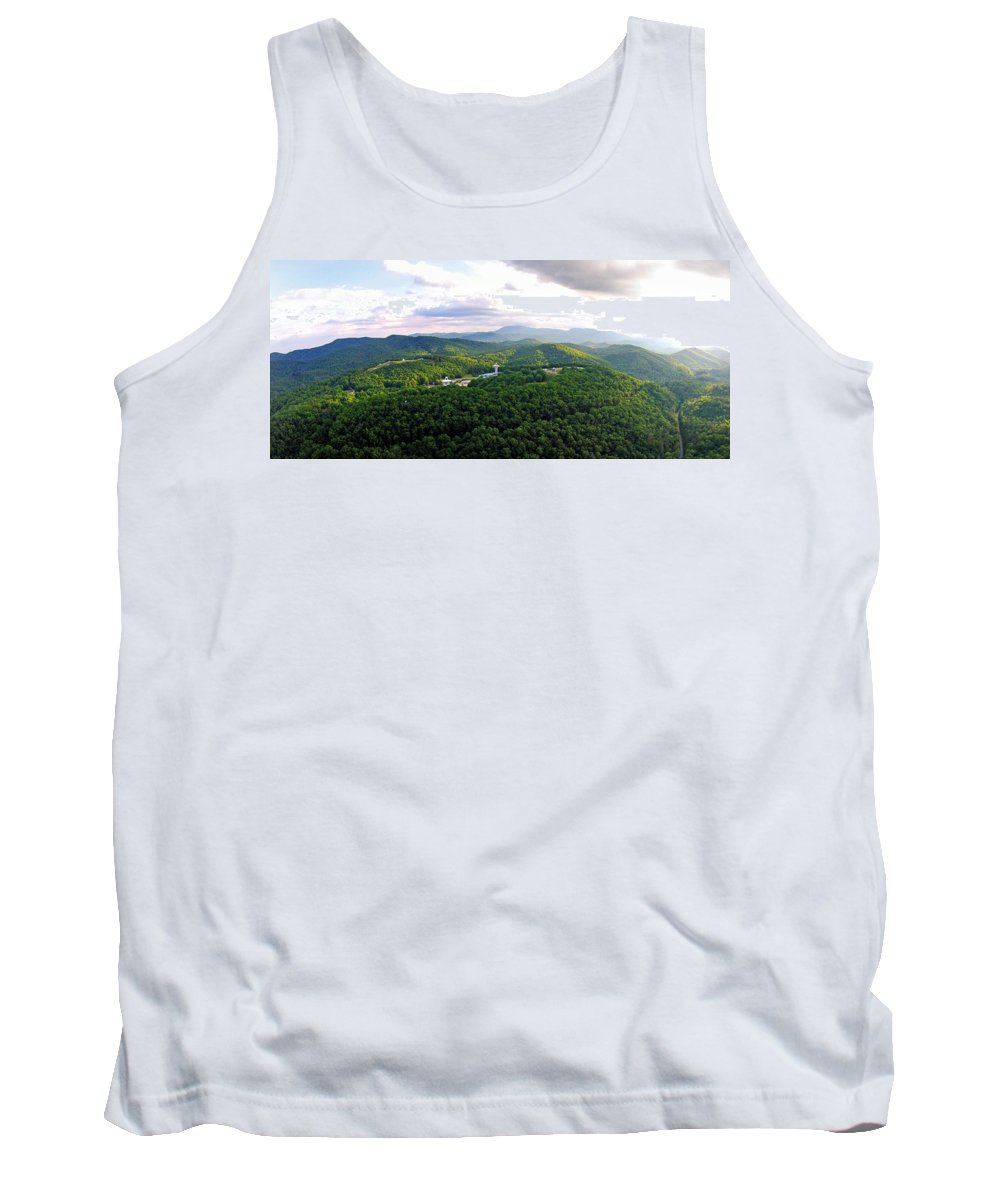 High Country Tank Top featuring the photograph High Country 1 In Wnc by Duane McCullough
