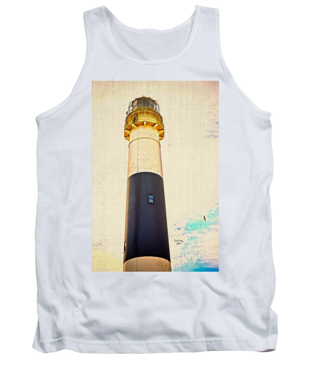 Lighthouse Tank Top featuring the photograph Historic Absecon Lighthouse by Trish Tritz