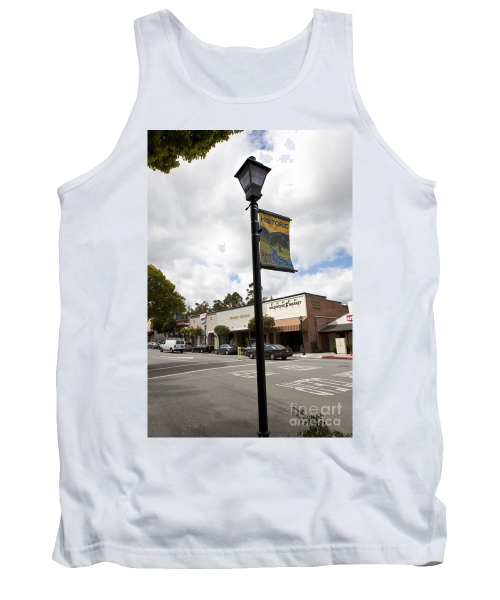 Saratoga Tank Top featuring the photograph Historic Saratoga Village by Jason O Watson