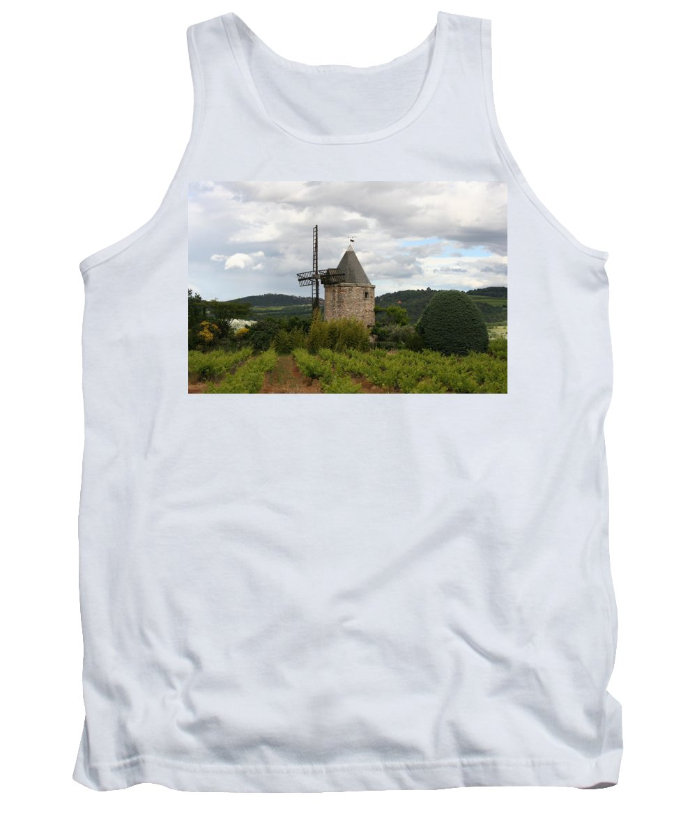 Mill Tank Top featuring the photograph Historic Windmill by Christiane Schulze Art And Photography