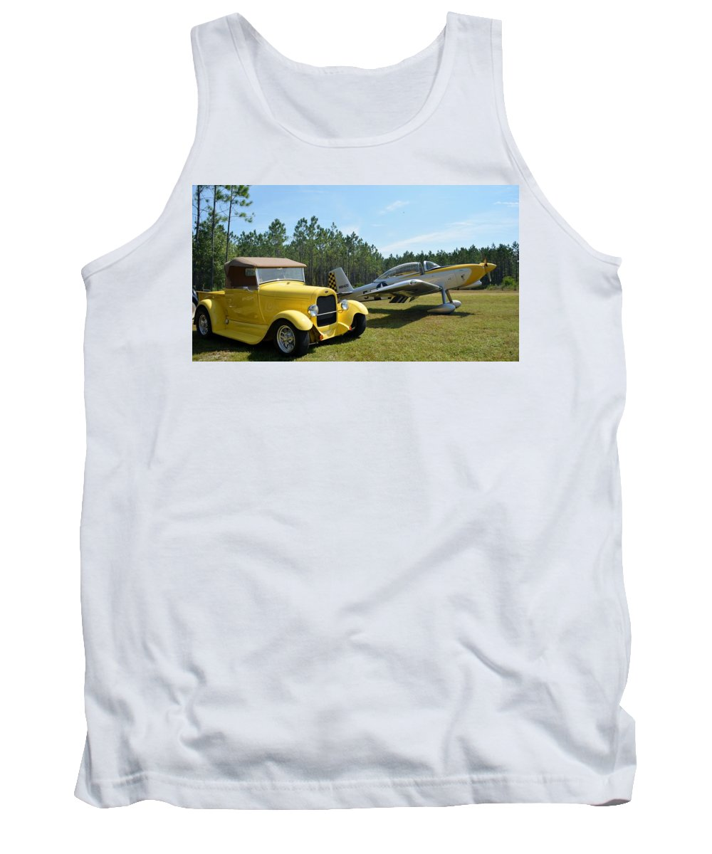 Ford Tank Top featuring the photograph Hot Rods by Matt Abrams
