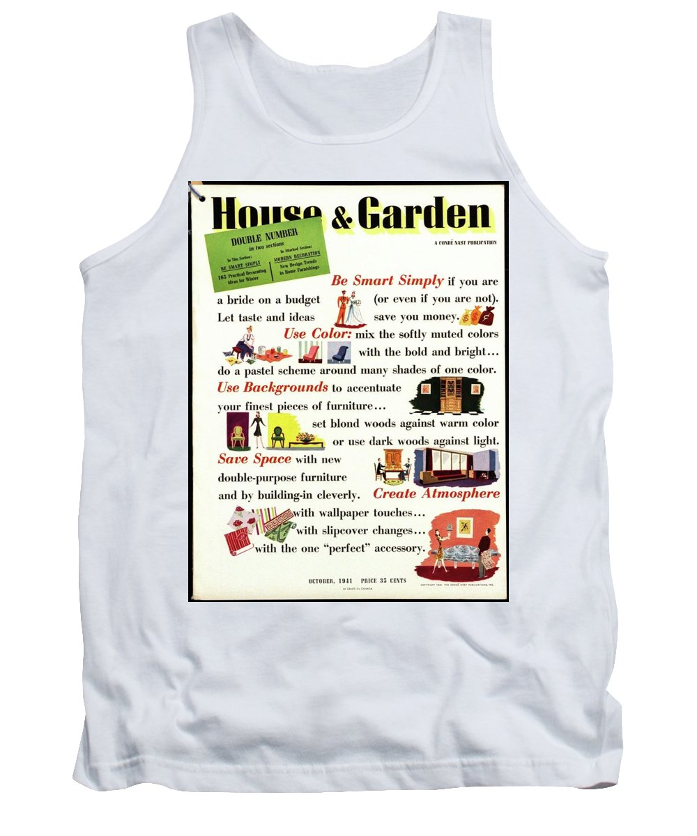 House And Garden Tank Top featuring the photograph House And Garden Cover by Paolo Garretto