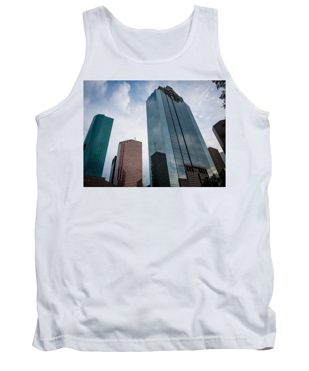 Houston Tank Top featuring the photograph Houston by Cathy Smith