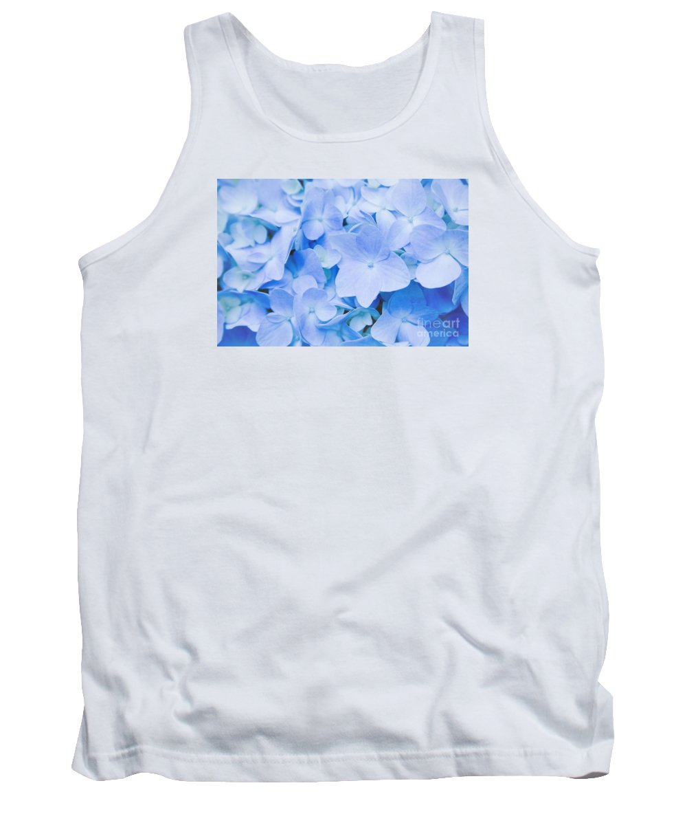 Hydrangea Tank Top featuring the photograph Hydrangea Macrophylla by Sharon Mau