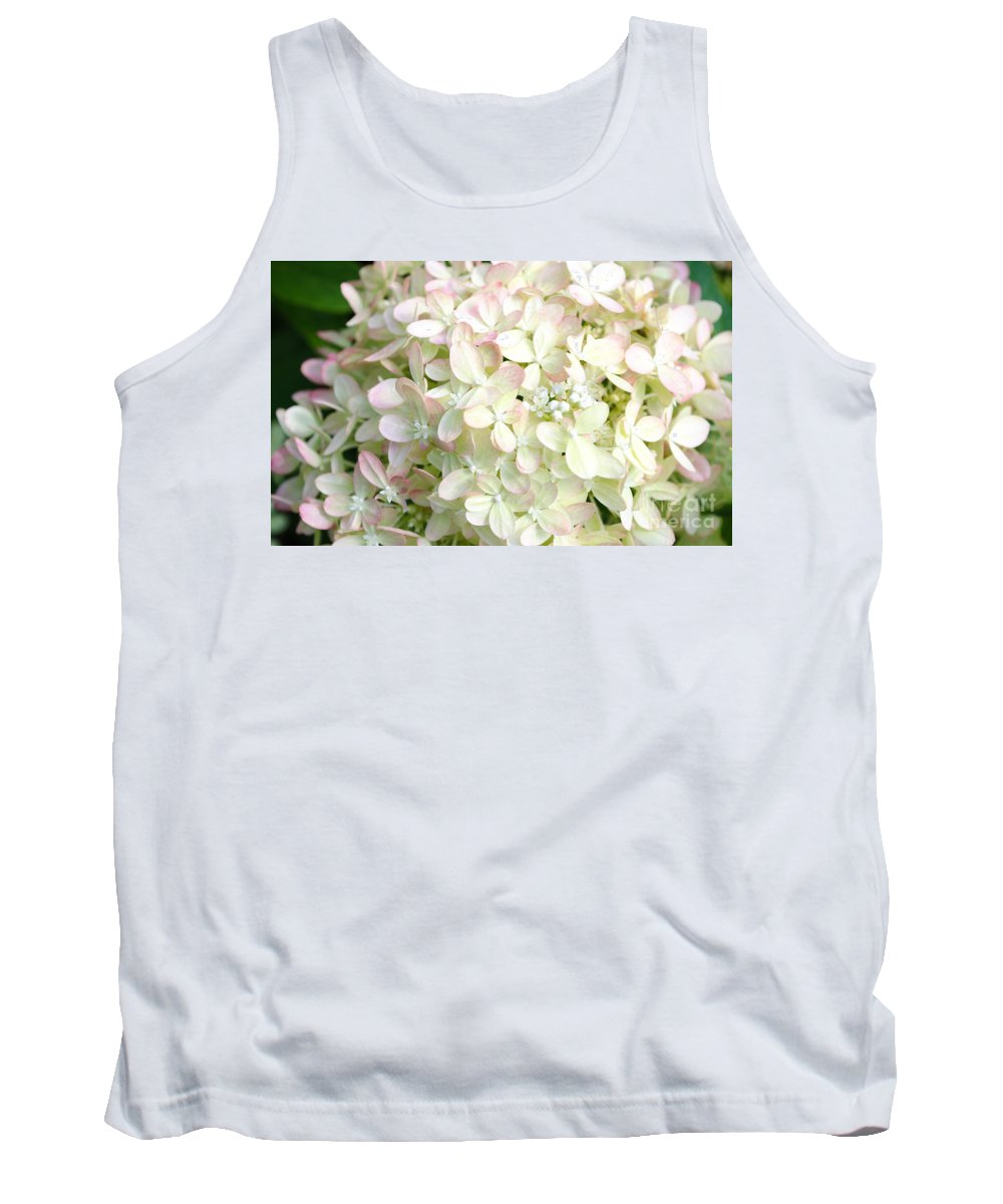 Flower Tank Top featuring the photograph Hydrangeas 3 by Andrea Anderegg