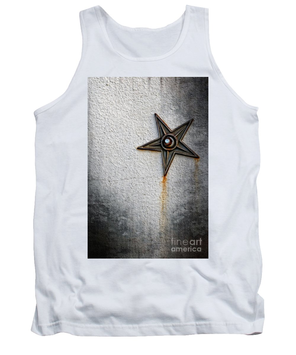 Art Tank Top featuring the photograph I D E O G R A M by Charles Dobbs