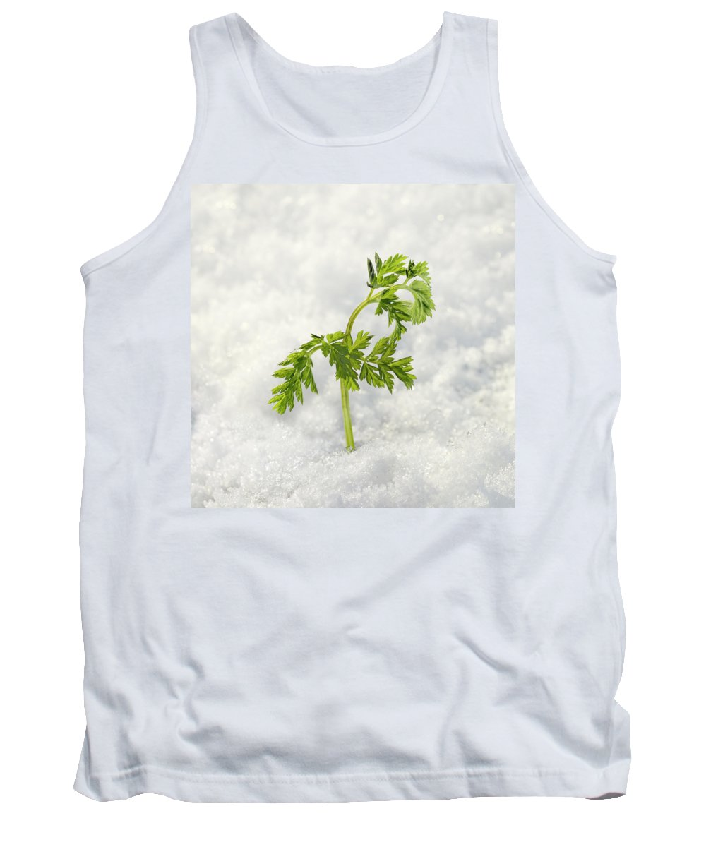 Background Tank Top featuring the photograph I Will Survive by TouTouke A Y