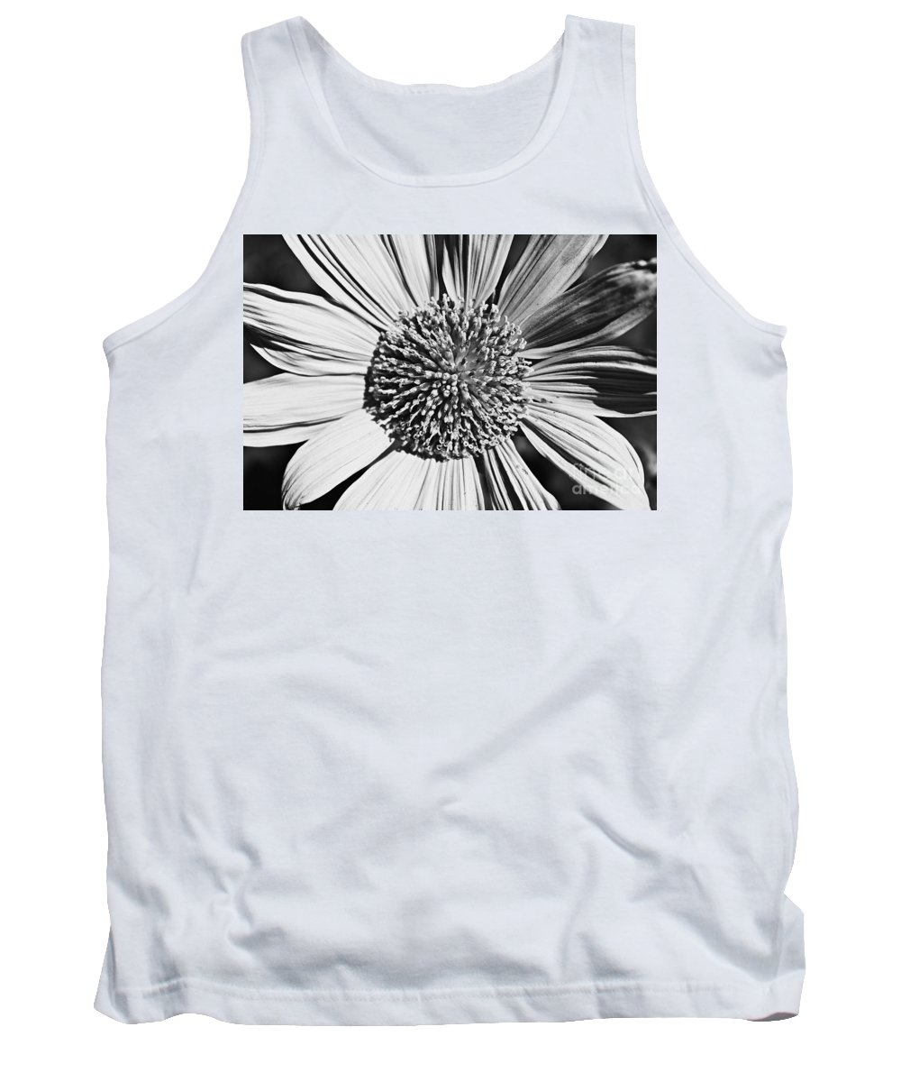 Blackandwhite Tank Top featuring the photograph Ice Cool by Clare Bevan