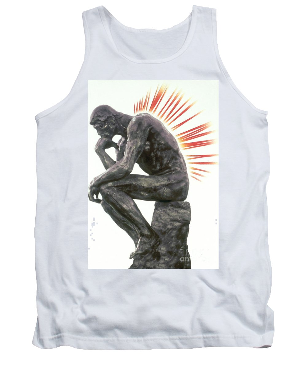 Back Pain Tank Top featuring the photograph Illustration Of Back Pain by Dennis Potokar