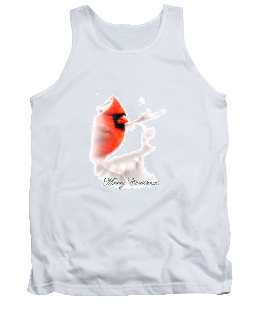 Cardinal Tank Top featuring the photograph Img 2559-19 by Travis Truelove