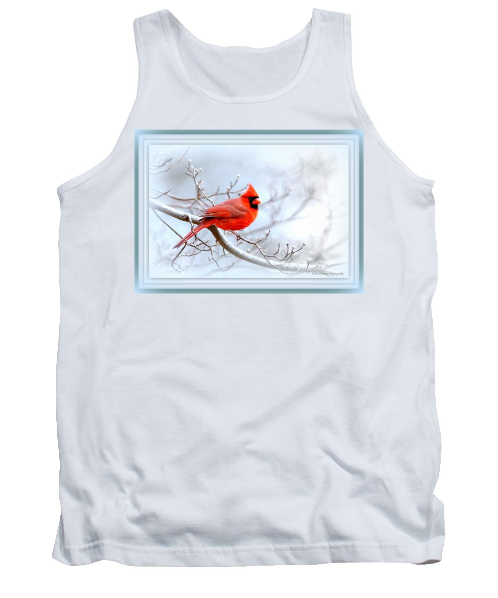 Cardinal Tank Top featuring the photograph Img 2559-20 by Travis Truelove