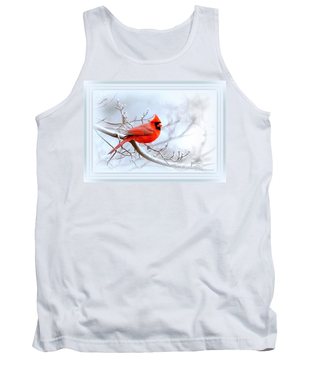 Cardinal Tank Top featuring the photograph Img 2559-21 by Travis Truelove