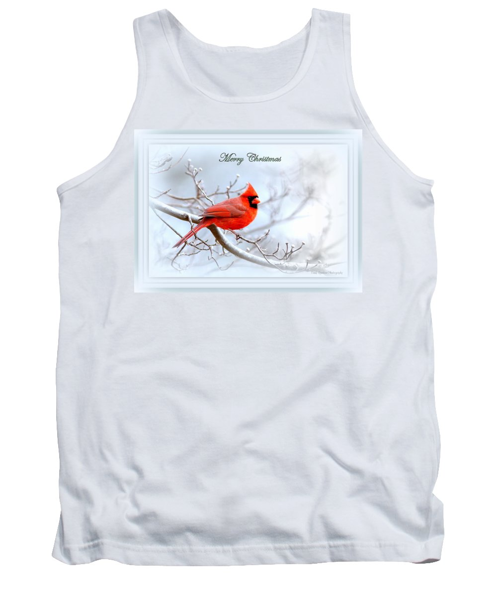 Cardinal Tank Top featuring the photograph Img 2559-30 by Travis Truelove