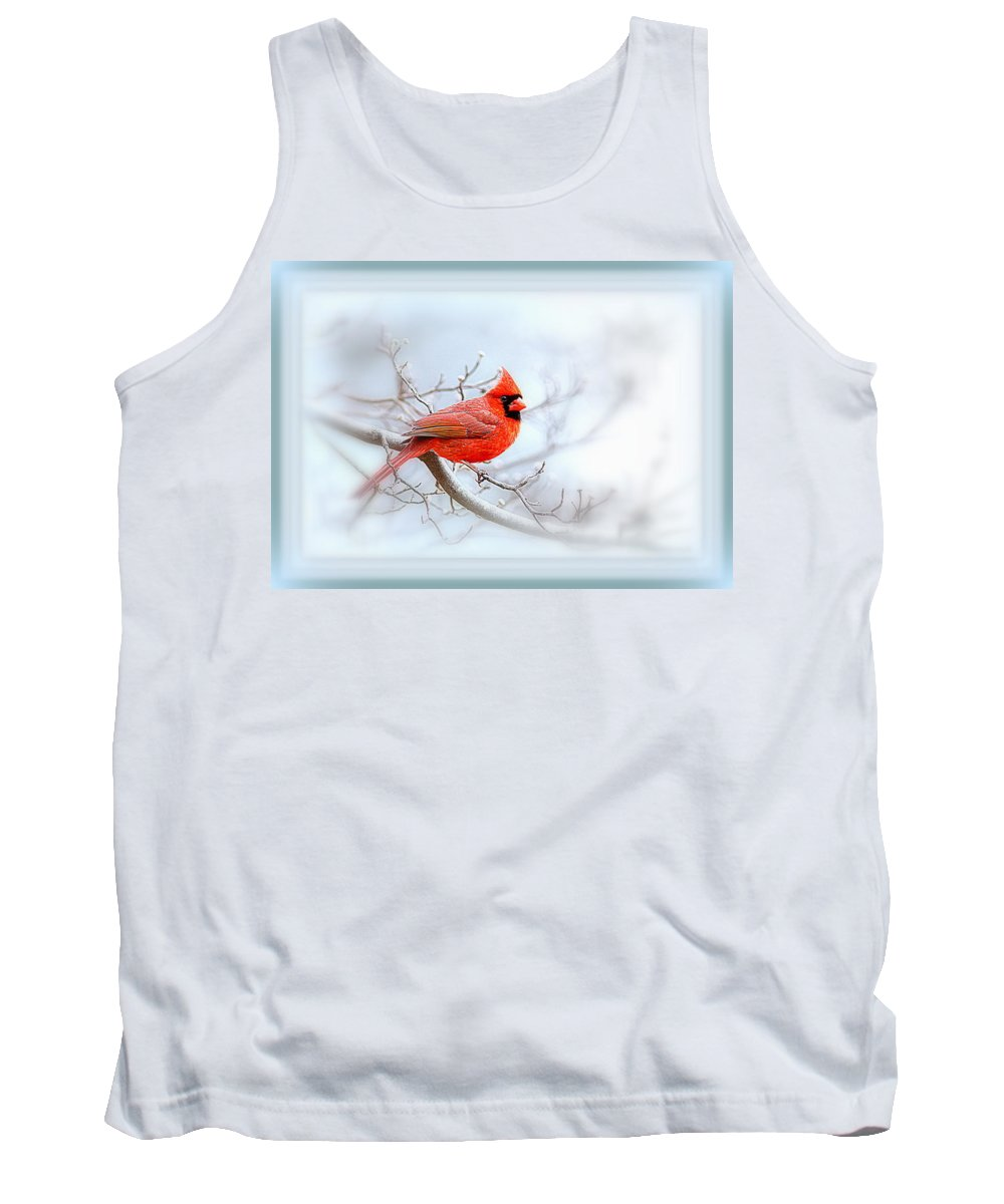 Cardinal Tank Top featuring the photograph Img 2559-35 by Travis Truelove