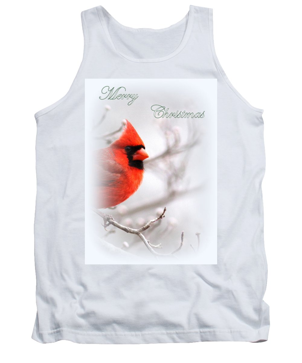 Cardinal Tank Top featuring the photograph Img 2559-40 by Travis Truelove