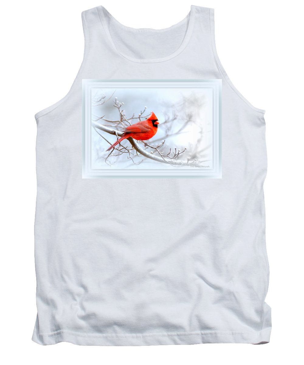 Cardinal Tank Top featuring the photograph Img 2559-43 by Travis Truelove