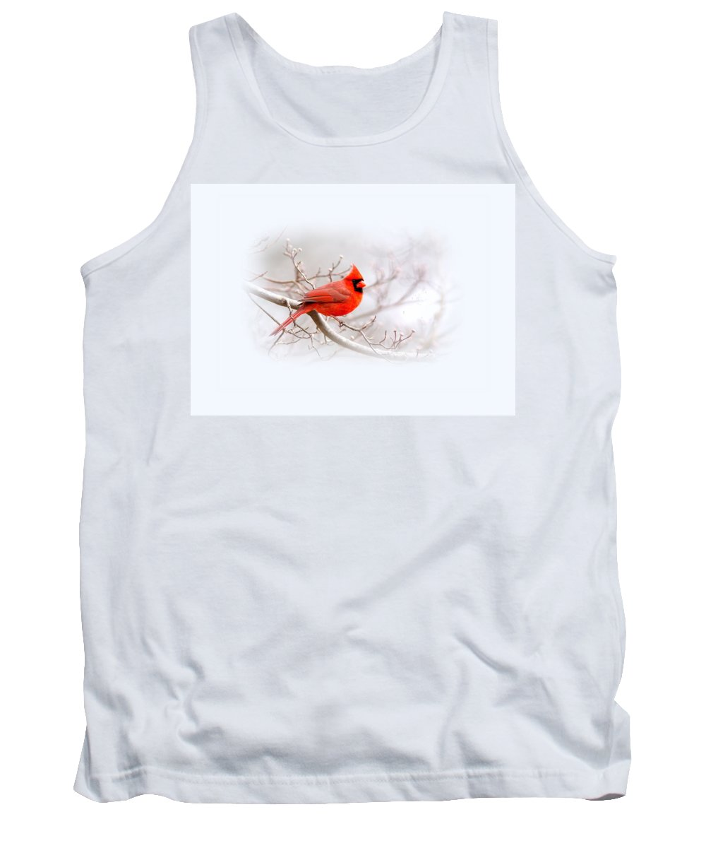 Cardinal Tank Top featuring the photograph Img 2559-7 by Travis Truelove