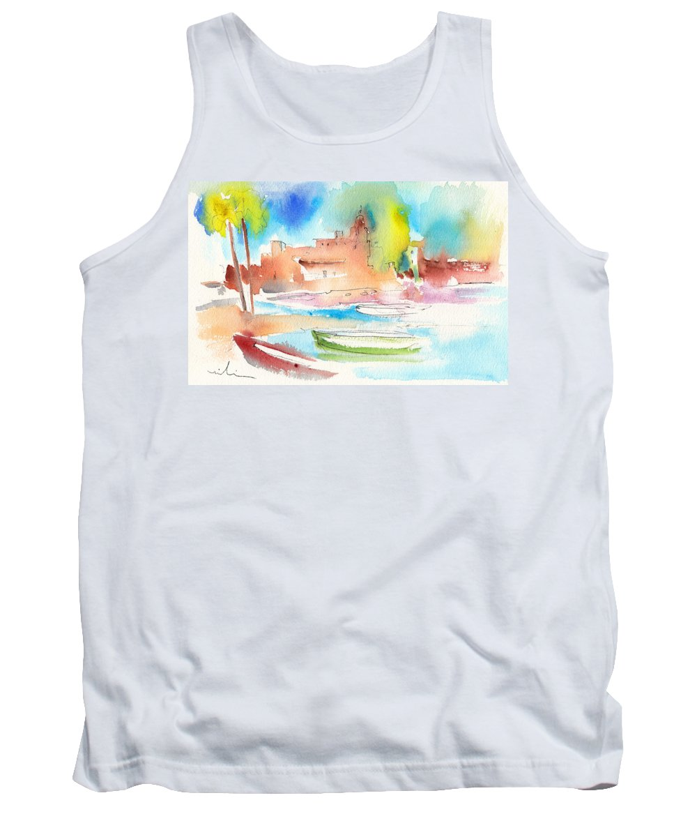 Tank Top featuring the painting Imperia In Italy 05 by Miki De Goodaboom