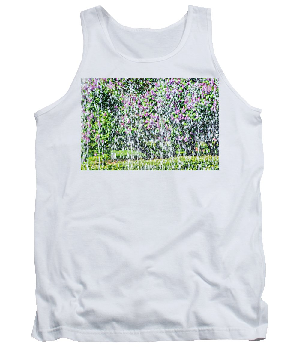Impressionism Tank Top featuring the photograph Impressions Of Spring 4 by Alexander Senin