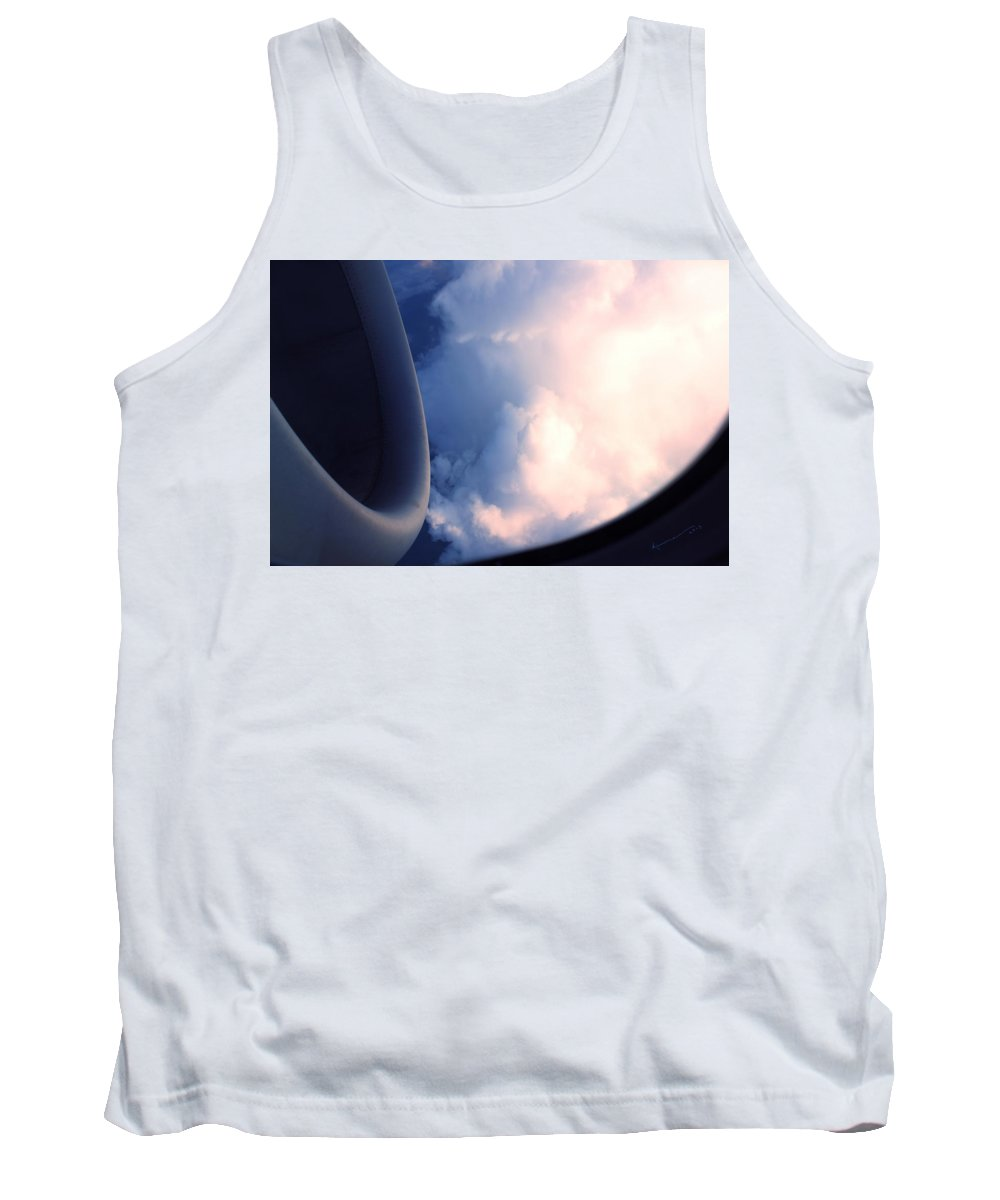 Clouds Tank Top featuring the photograph In The Cloud by Kume Bryant