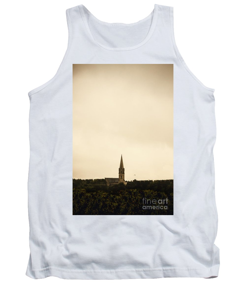 Church Tank Top featuring the photograph In The Distance by Margie Hurwich