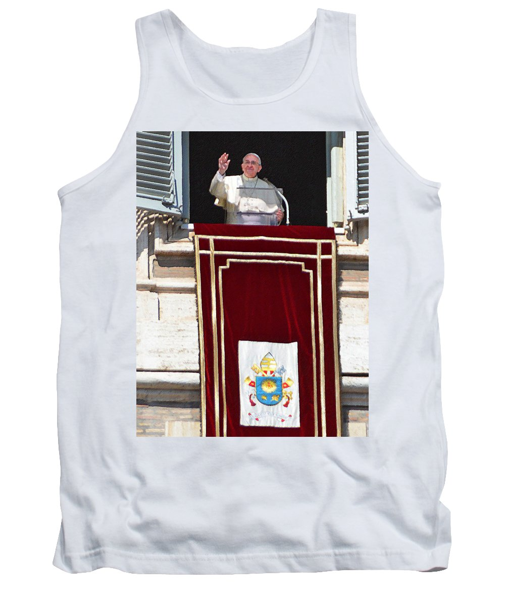 Tank Top featuring the photograph In The Name Of The Father by Maggie Magee Molino