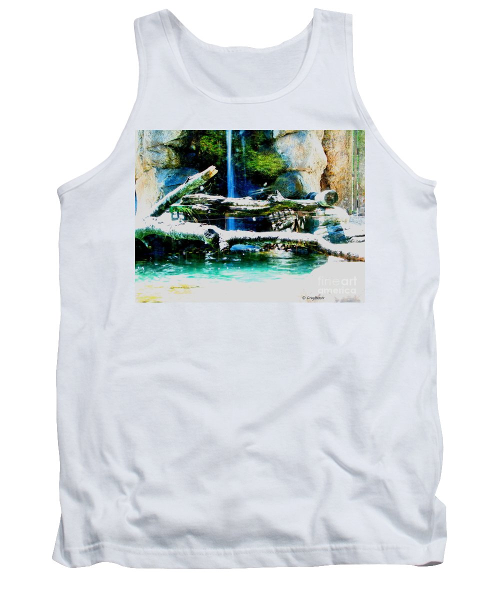 Patzer Tank Top featuring the photograph Indoor Nature by Greg Patzer