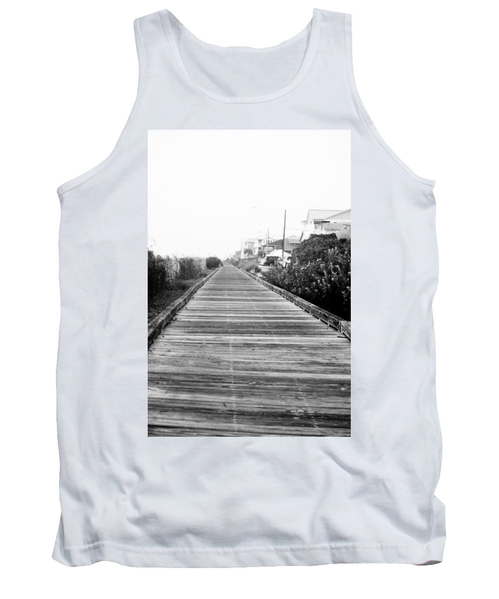 Boardwalk Tank Top featuring the photograph Infinity by Mary Hahn Ward