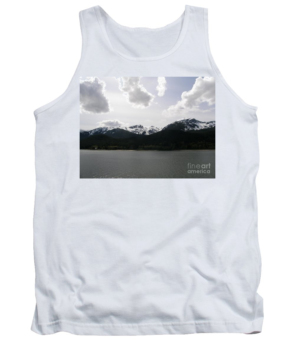 Inland Passage Tank Top featuring the photograph Inland Passage by Bev Conover