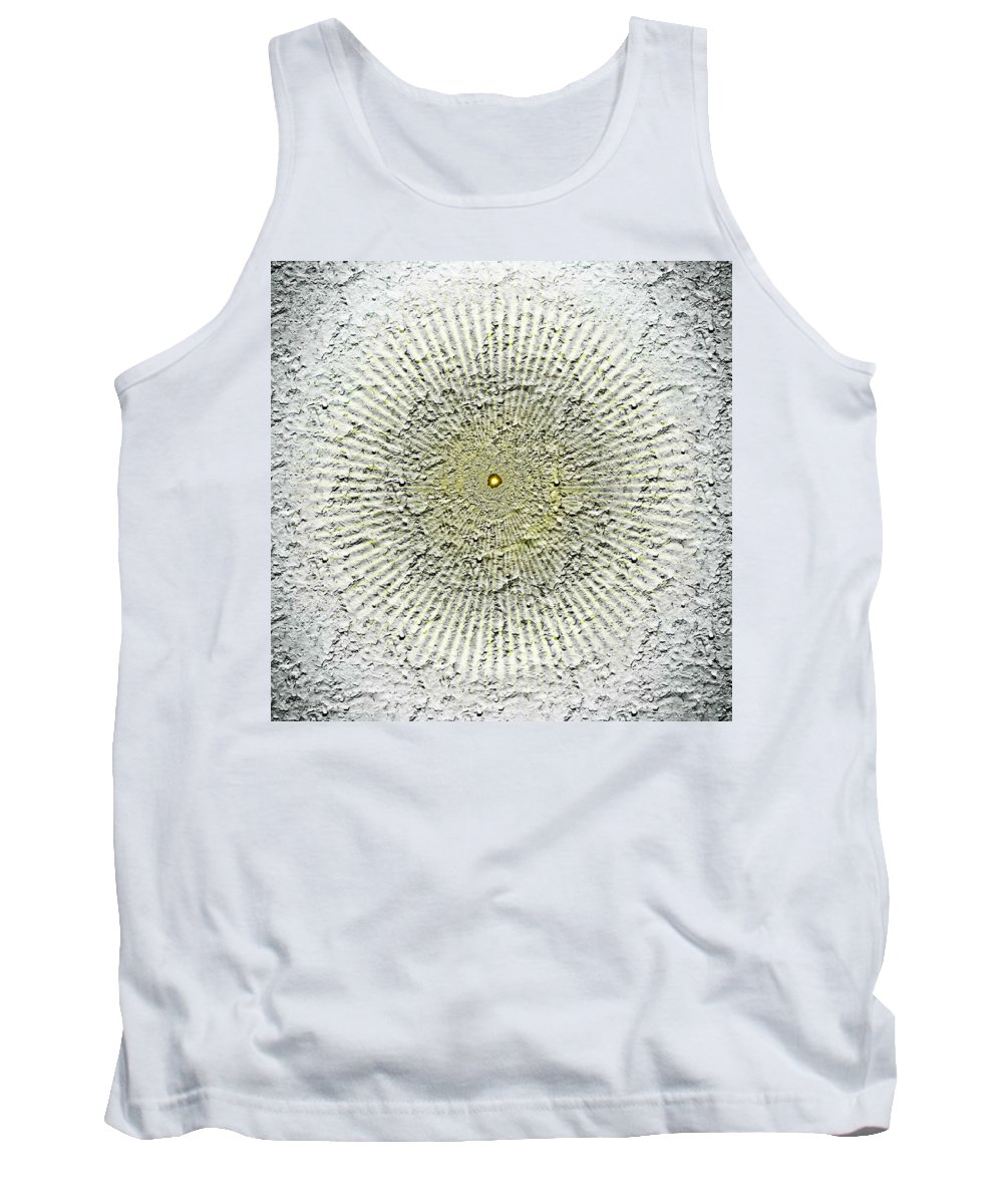 Modern Art Tank Top featuring the digital art Into The Abyss by Liggyzighat