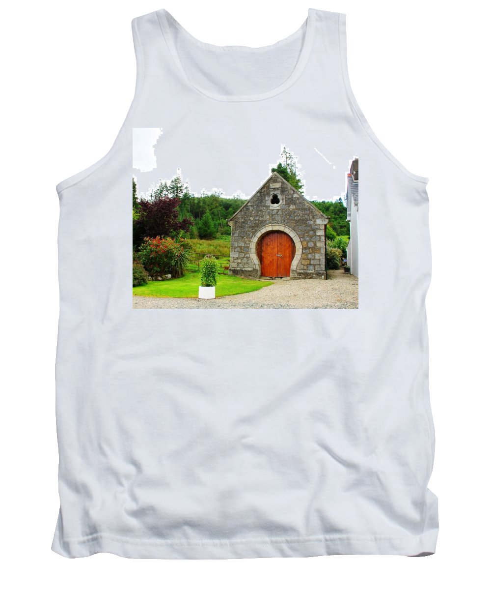 Door Tank Top featuring the photograph Irish Charm by Charlie and Norma Brock