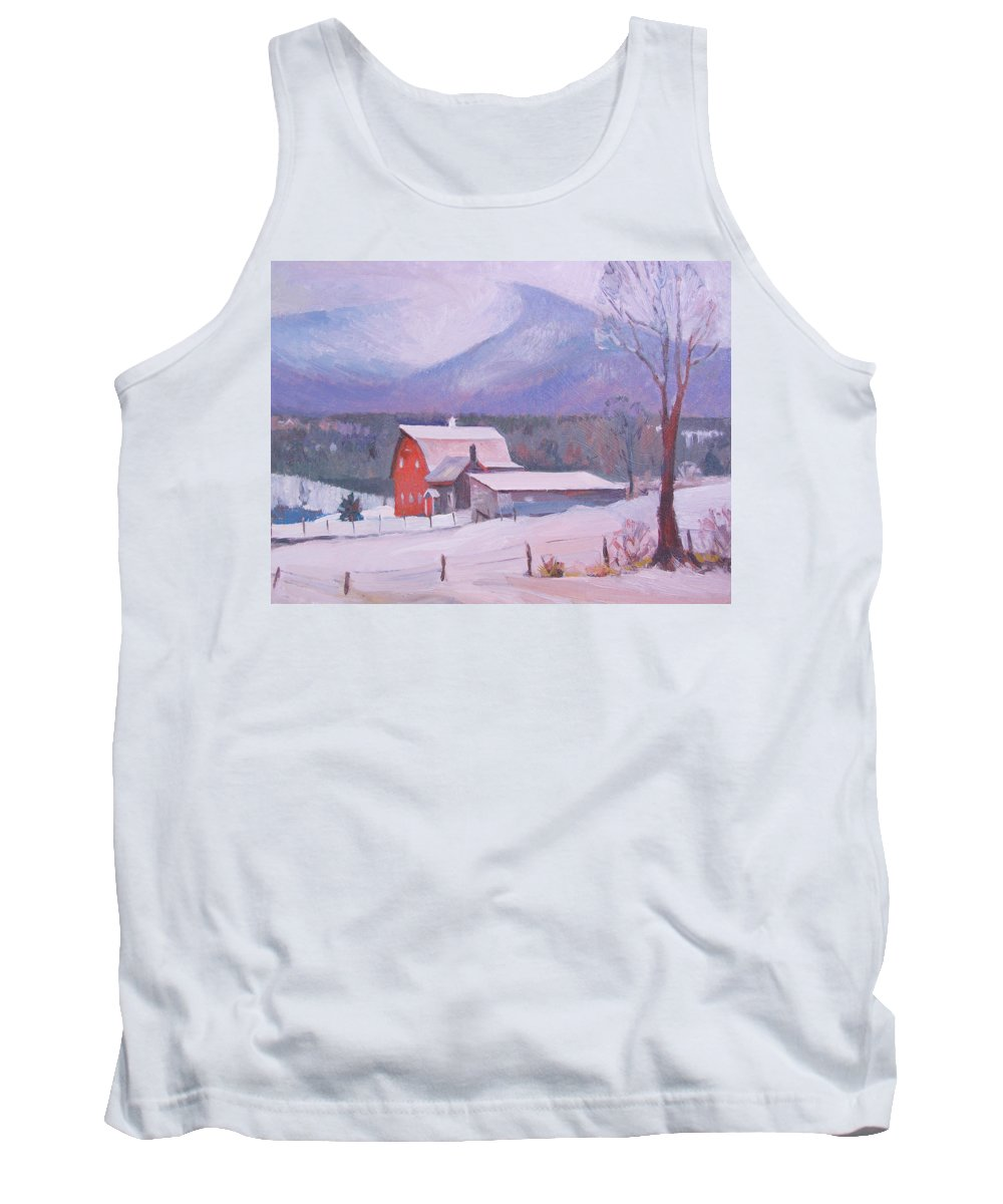 Mountain Tank Top featuring the painting Irish Settlement by Dianne Panarelli Miller
