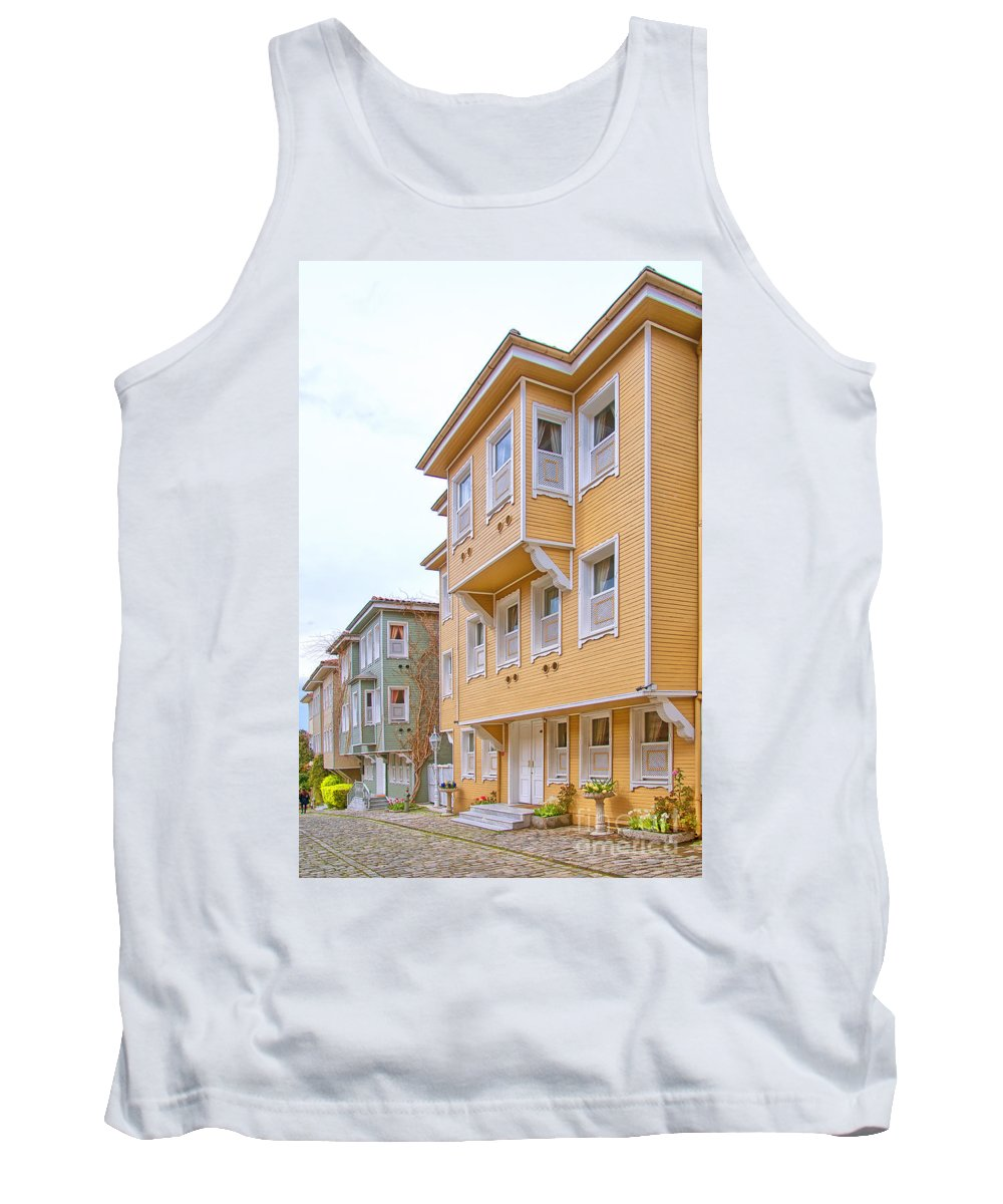 Turkey Tank Top featuring the photograph Istanbul Wooden Houses 02 by Antony McAulay