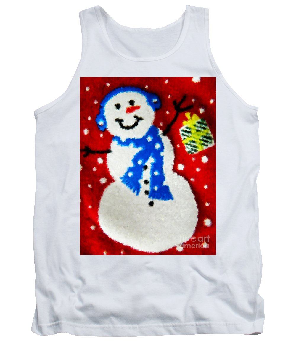 Xmas Tank Top featuring the photograph It Is Christmas Time by Andrea Anderegg
