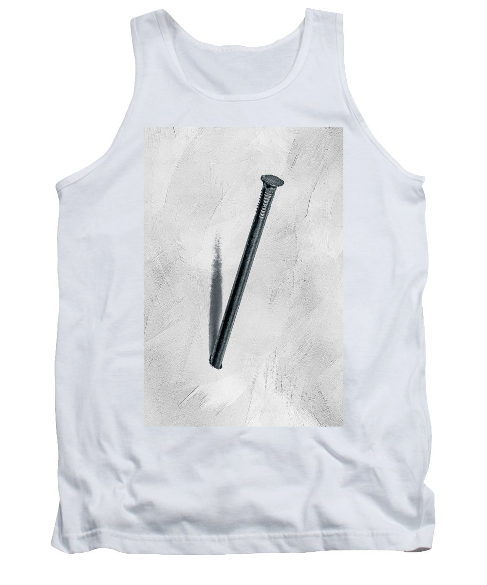 Nail Tank Top featuring the photograph Just Nailed by Alexander Senin