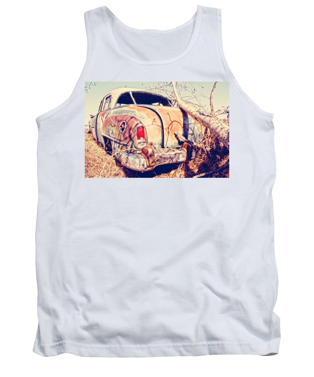 Car Tank Top featuring the photograph Keep The Stash by The Artist Project