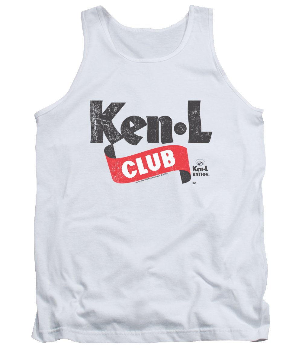 Ken L Ration Tank Top featuring the digital art Ken L Ration - Ken L Club by Brand A