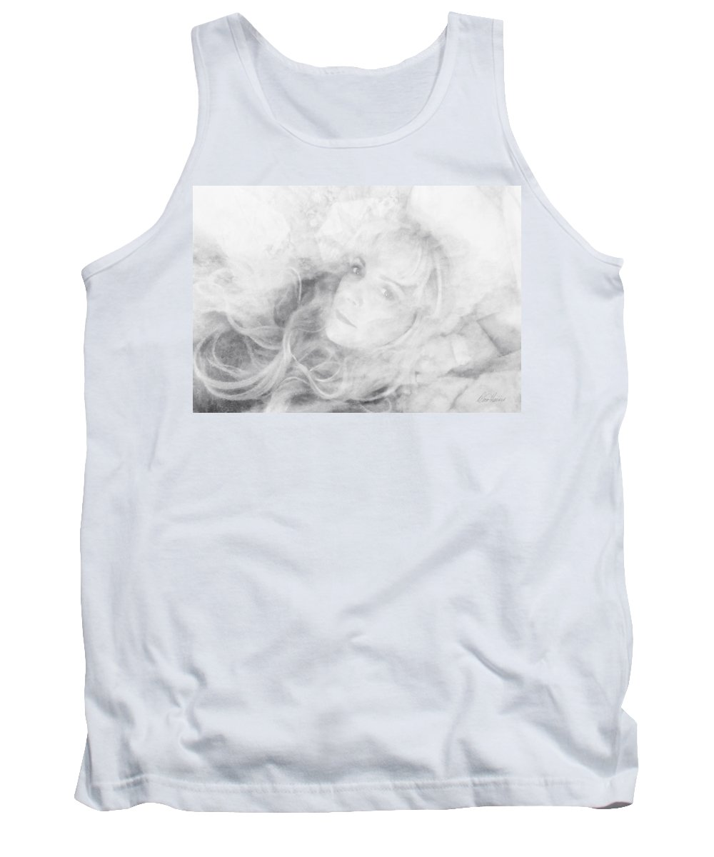 Lady Tank Top featuring the photograph Lady Of The Clouds by Diana Haronis