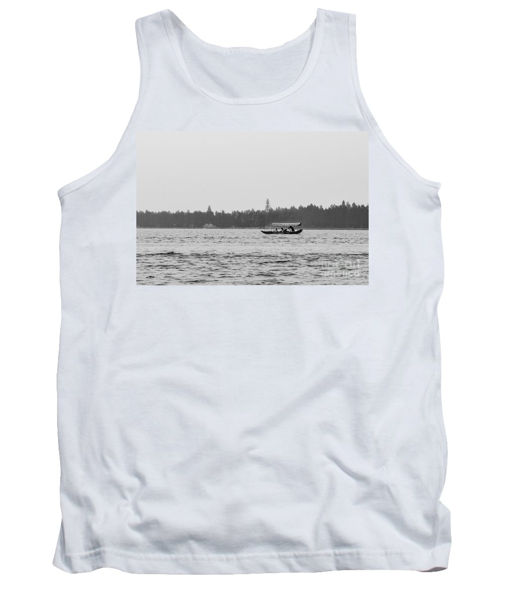 China Tank Top featuring the photograph Lake Crossing by Matt Malloy