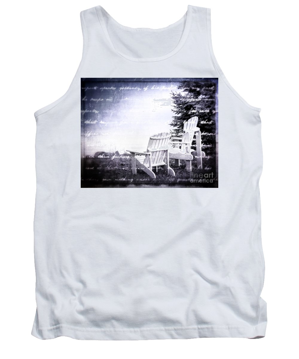 Lake Tank Top featuring the photograph Lakeside by Perry Webster
