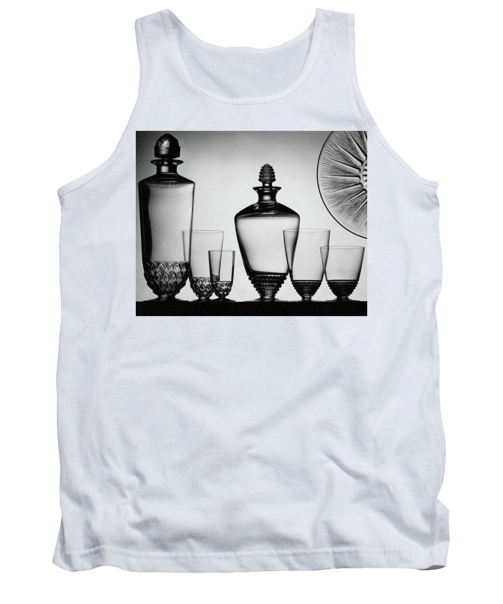 Home Accessories Tank Top featuring the photograph Lalique Glassware by The 3