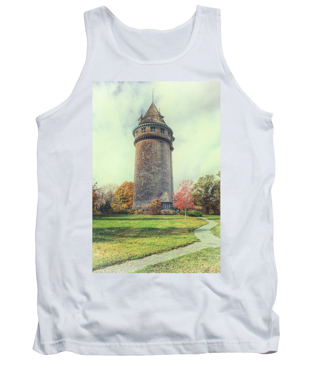 Joan Carroll Tank Top featuring the photograph Lawson Tower by Joan Carroll