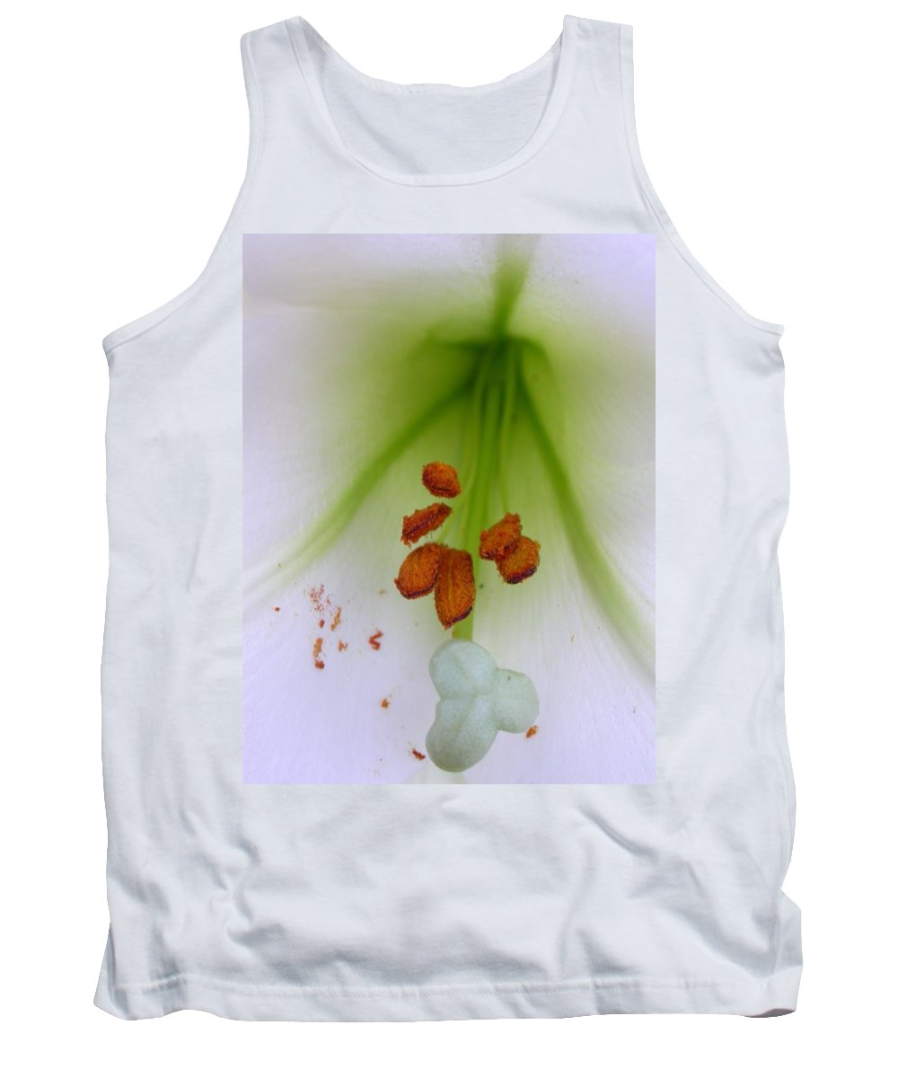 Tank Top featuring the photograph Lilium Formosa by Cynthia Wallentine