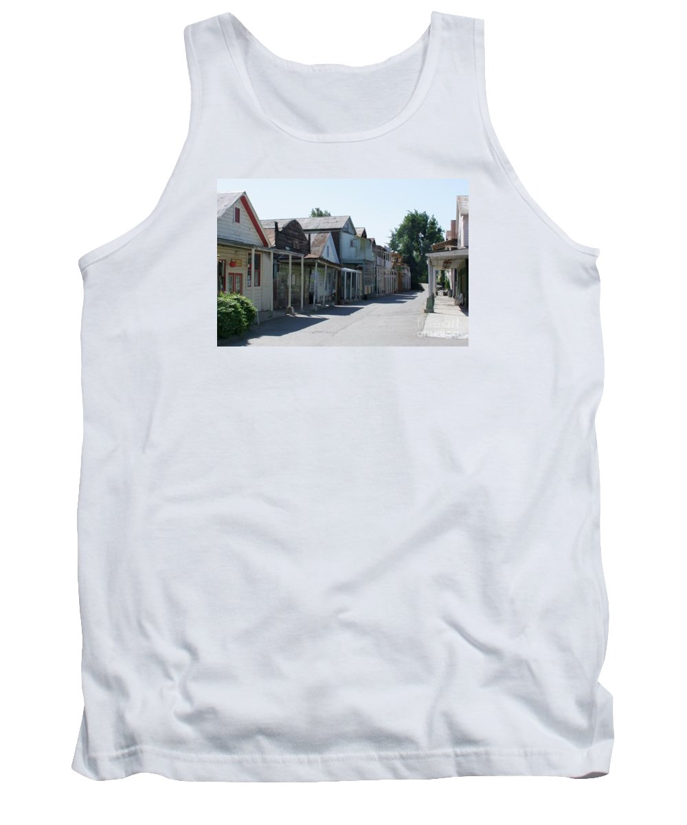 Landscapes Tank Top featuring the photograph Locke Chinatown Series - Main Street - 1 by Mary Deal
