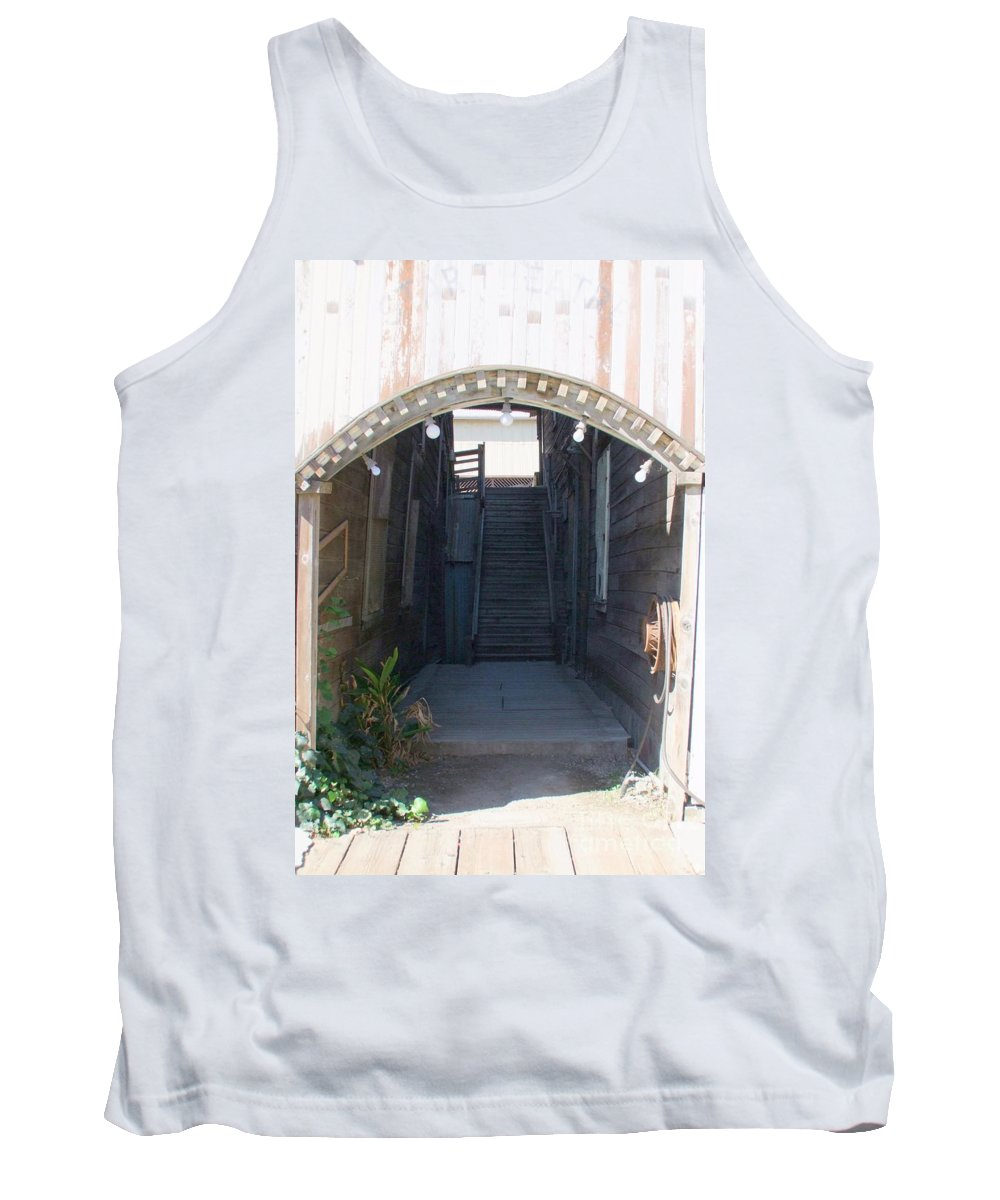 Buildings Tank Top featuring the photograph Locke Chinatown Series - Star Theatre - 2 by Mary Deal