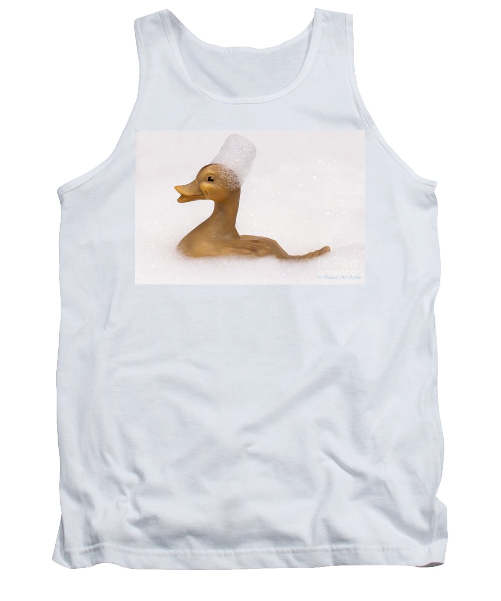Toy Tank Top featuring the photograph Lost And Found Rubber Ducky by Barbara McMahon
