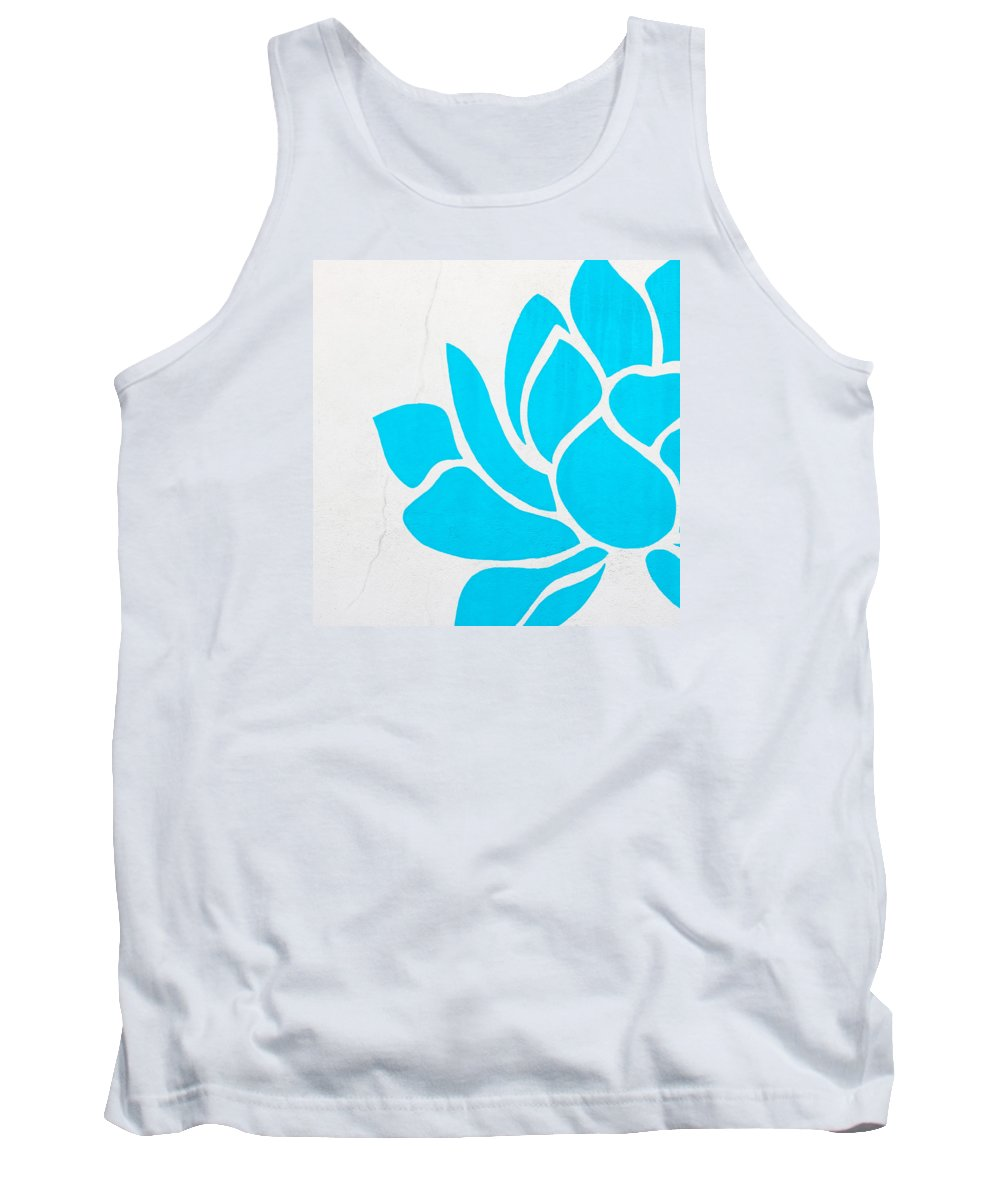 Lotus Tank Top featuring the photograph Lotus Blossom by Art Block Collections