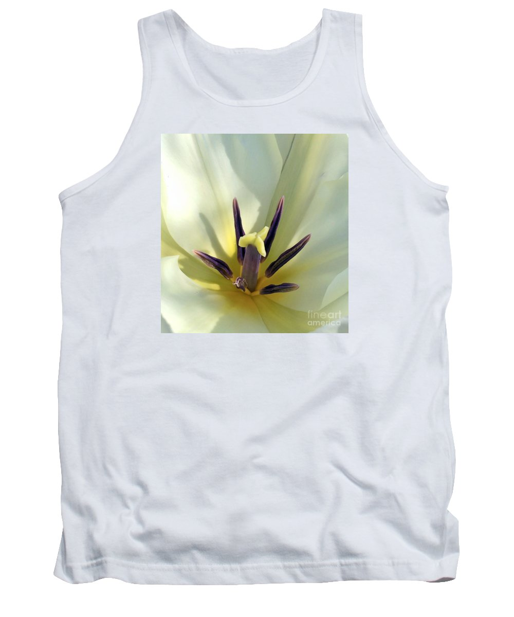 Macro Tank Top featuring the photograph Love Grows Within by Kerri Farley