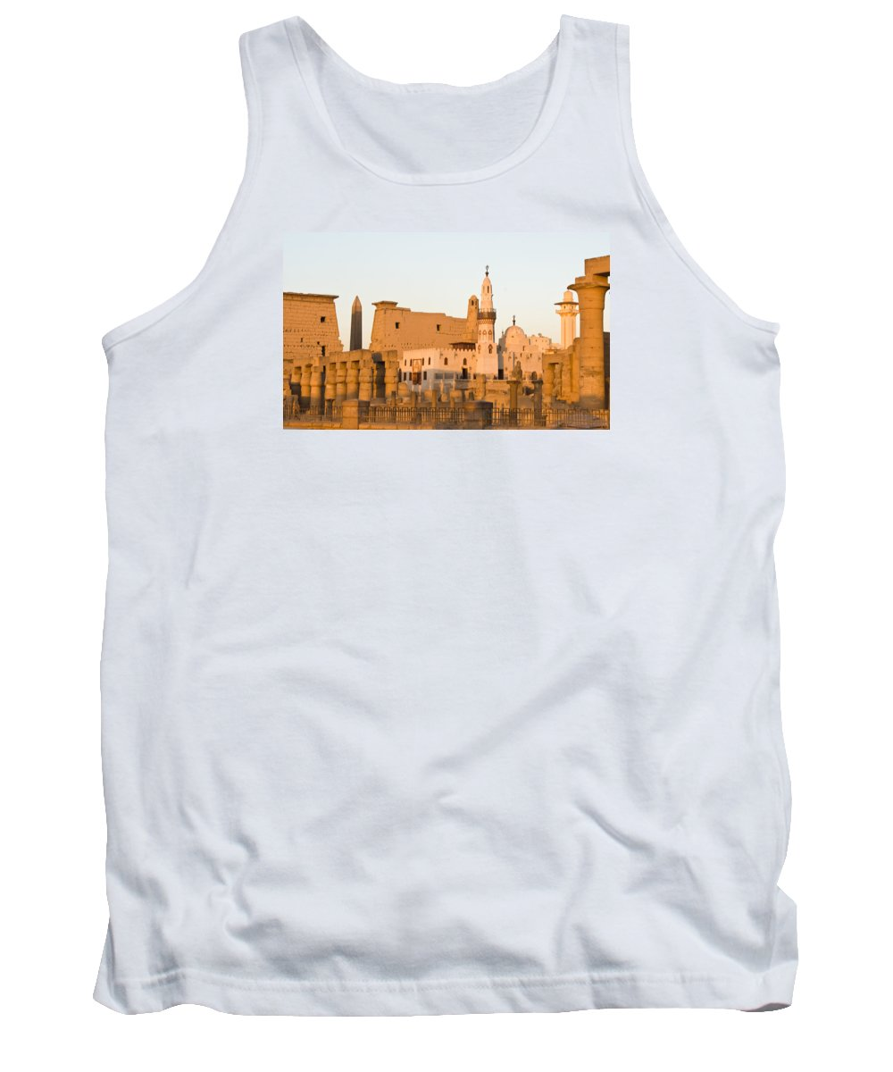 Tank Top featuring the photograph Luxor Entrance by James Gay